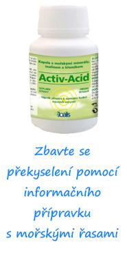 ActicAcid - překyselení organismu
