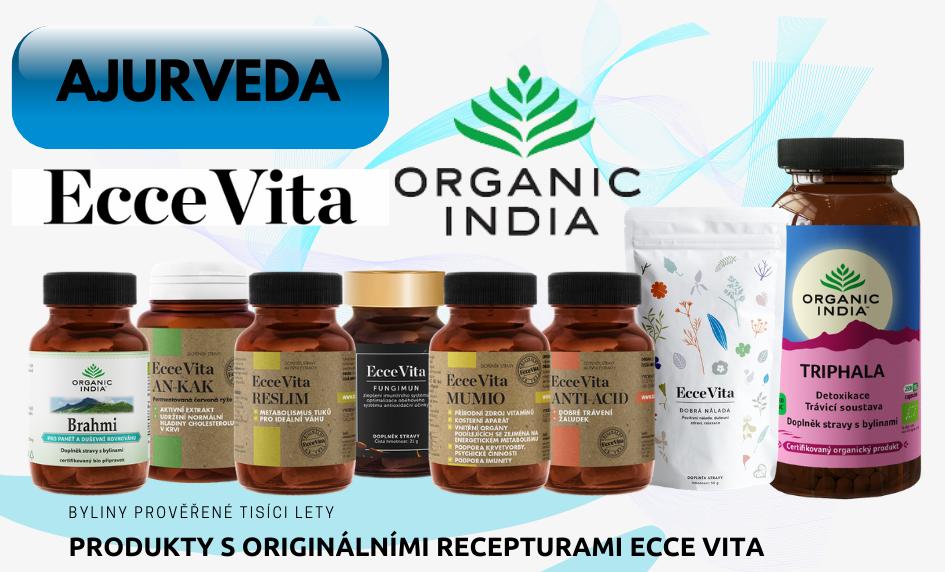 Sortiment produktů Ecce Vita, Organic India