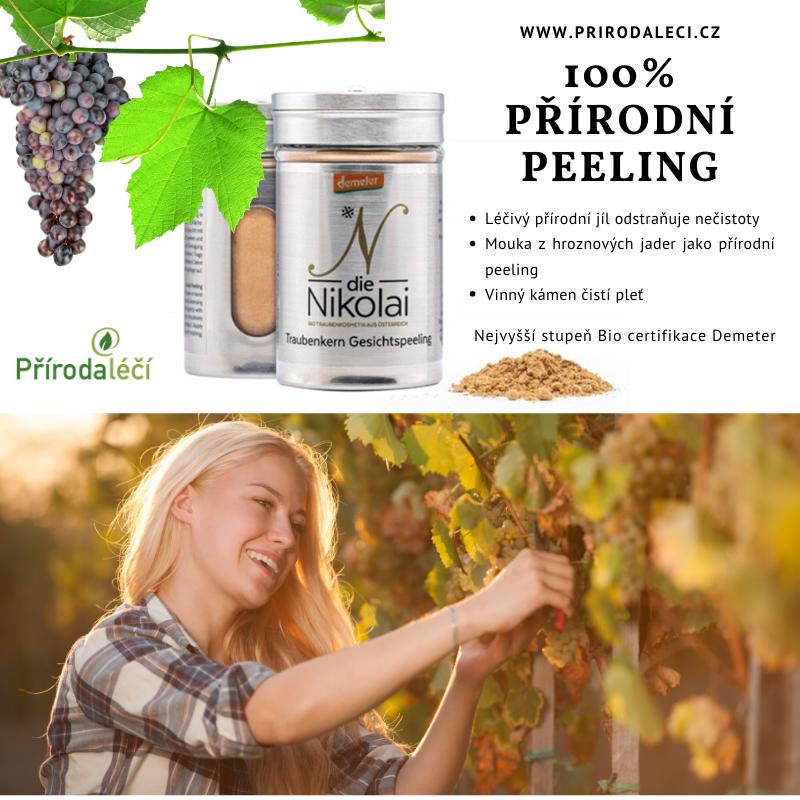 přírodní peeling