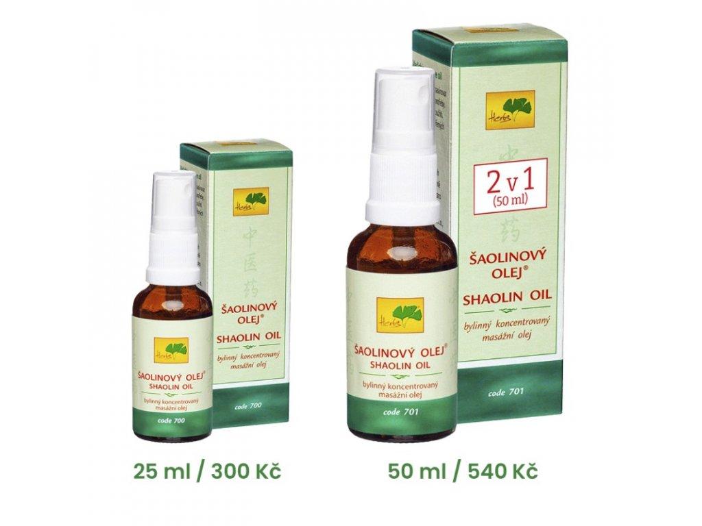 701 saolinovy olej 50 ml