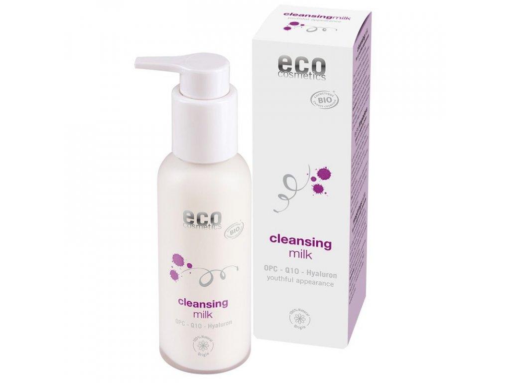 Eco Cosmetics Čistící mléko BIO (100 ml) - s originální ošetřující formulí