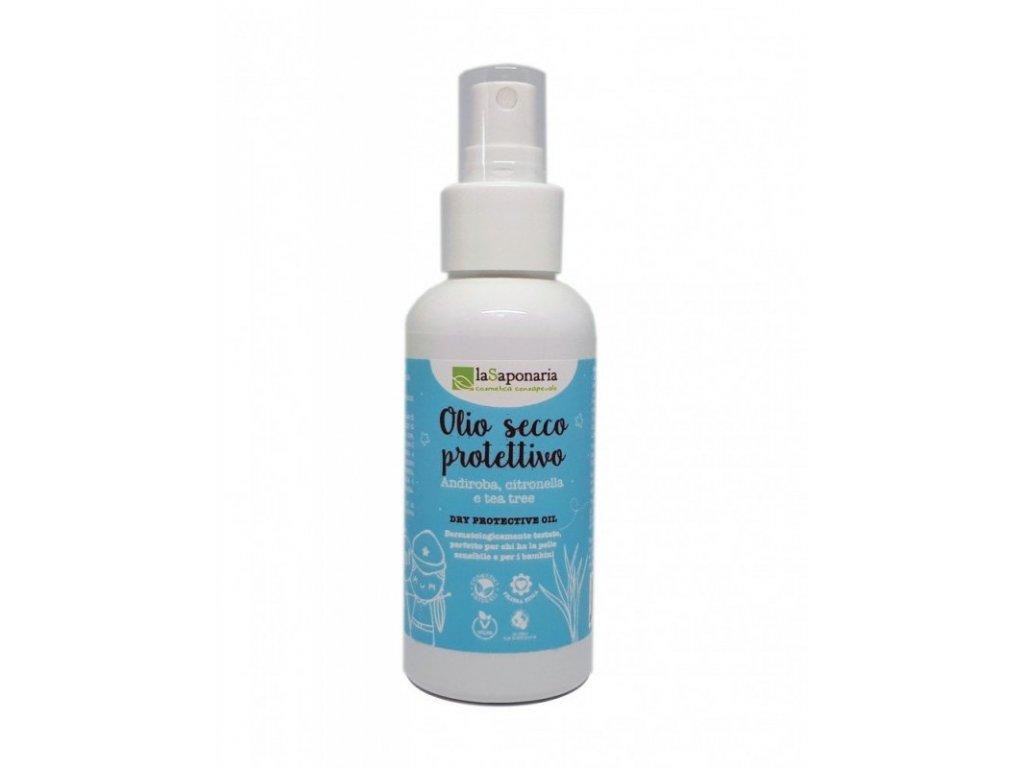 laSaponaria Repelentní olej ve spreji (100 ml) - působí proti komárům a ovádům
