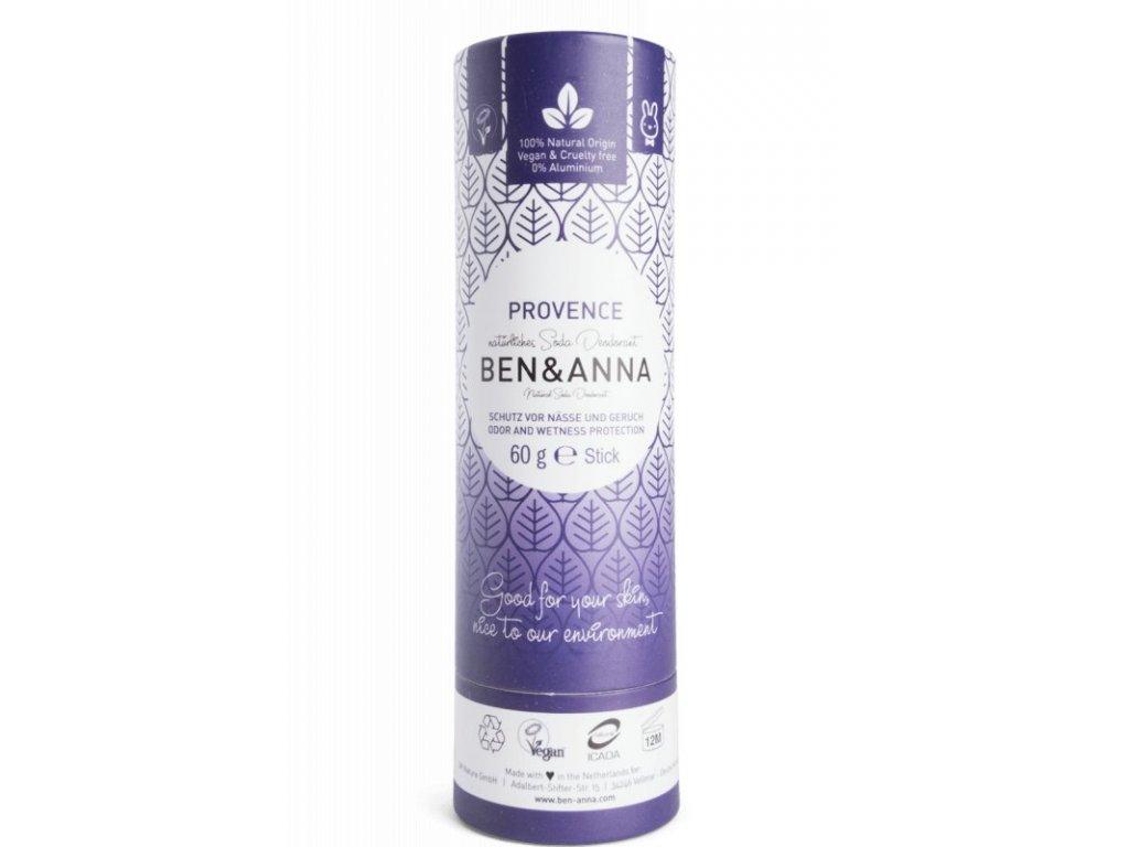 Ben & Anna Tuhý deodorant (60 g) - Levandule - nezanechává lepivý pocit v podpaží