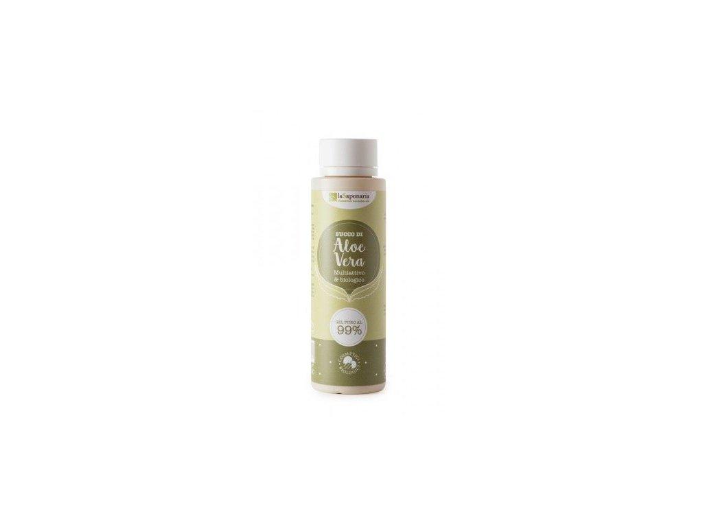 laSaponaria 99% Aloe vera gel na tělo a vlasy BIO (150 ml)