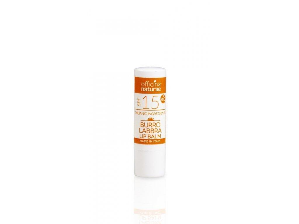 Officina Naturae Ochranný balzám na rty SPF 15 (5 g)