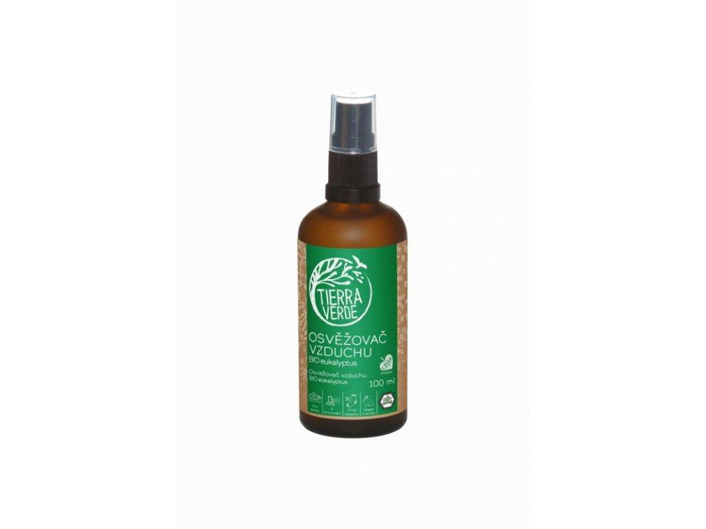 Tierra Verde Osvěžovač vzduchu - BIO Eukalyptus (100 ml)