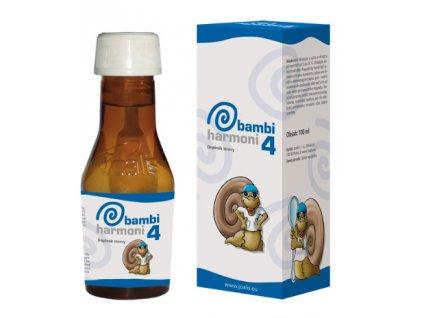 Joalis BambiHarmoni 4 - 100 ml - trávicí trakt