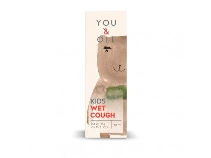You & Oil KIDS Bioaktivní směs pro děti - Vlhký kašel (10 ml) - uleví od nepříjemného kašle
