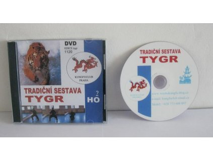 DVD - sestava tygr