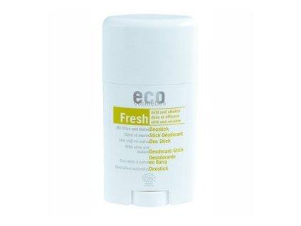 Eco Cosmetics Tuhý deodorant BIO (50 ml) - s olivovým listem a slézem