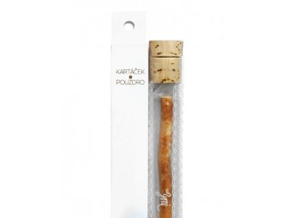 Yoni Přírodní zubní kartáček ze Salvadory perské vč. skleněného pouzdra