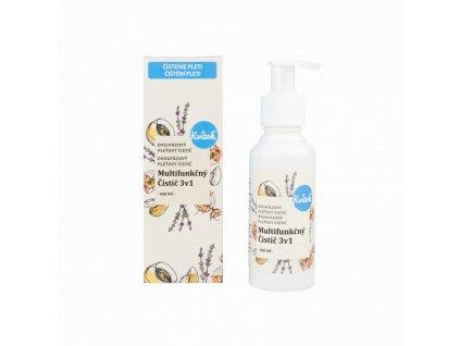 Kvitok Dvoufázový multifunkční čistič 3v1 (100 ml) - odstraní make-up, čistí a tonizuje