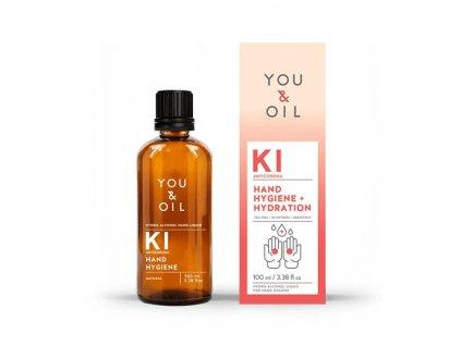You & Oil Antibakteriální čistič na ruce (100 ml) - 65 % alkoholu