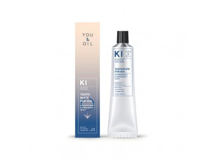You & Oil Afrodiziakální zubní pasta s kardamomem a mátou - Pro něj (70 g)
