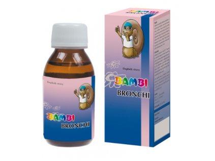 Joalis Bambi Bronchi - 100 ml - dýchací ústrojí