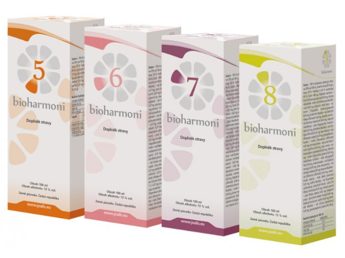 Joalis Bioharmoni Set II ( 5-8 ) 4x 100 ml