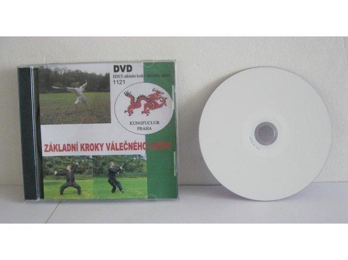DVD - kungfu cvičení - Jan Doskočil