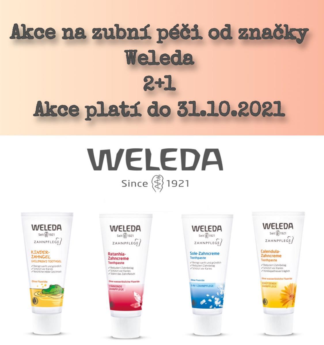 Weleda 2+1
