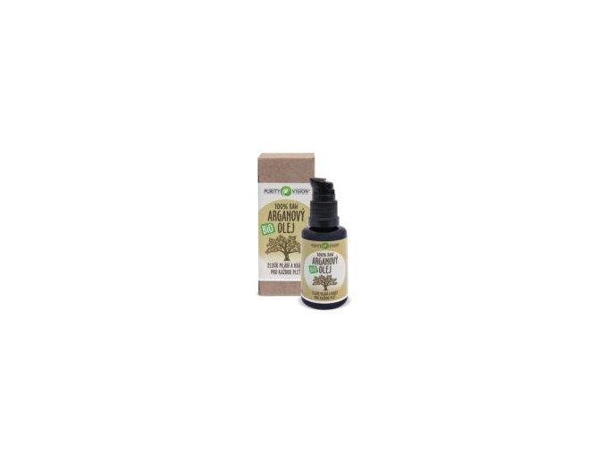 100 Raw Bio Arganovy olej purity vision 300x265