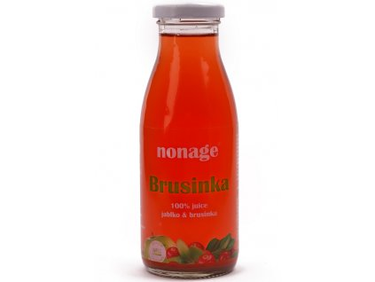 93 juice brusinka jablko bio 250ml