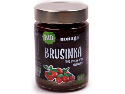 81 ovocny dzem brusinkovy bio 200g