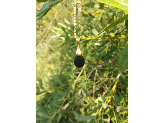 Dřevěný přívěsek z bahenního dubu  PŘÍRODĚ NADOSAH |DŘEVĚNÉ ŠPERKY