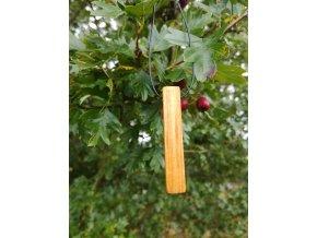 Dřevěný přívěsek kousek třešně