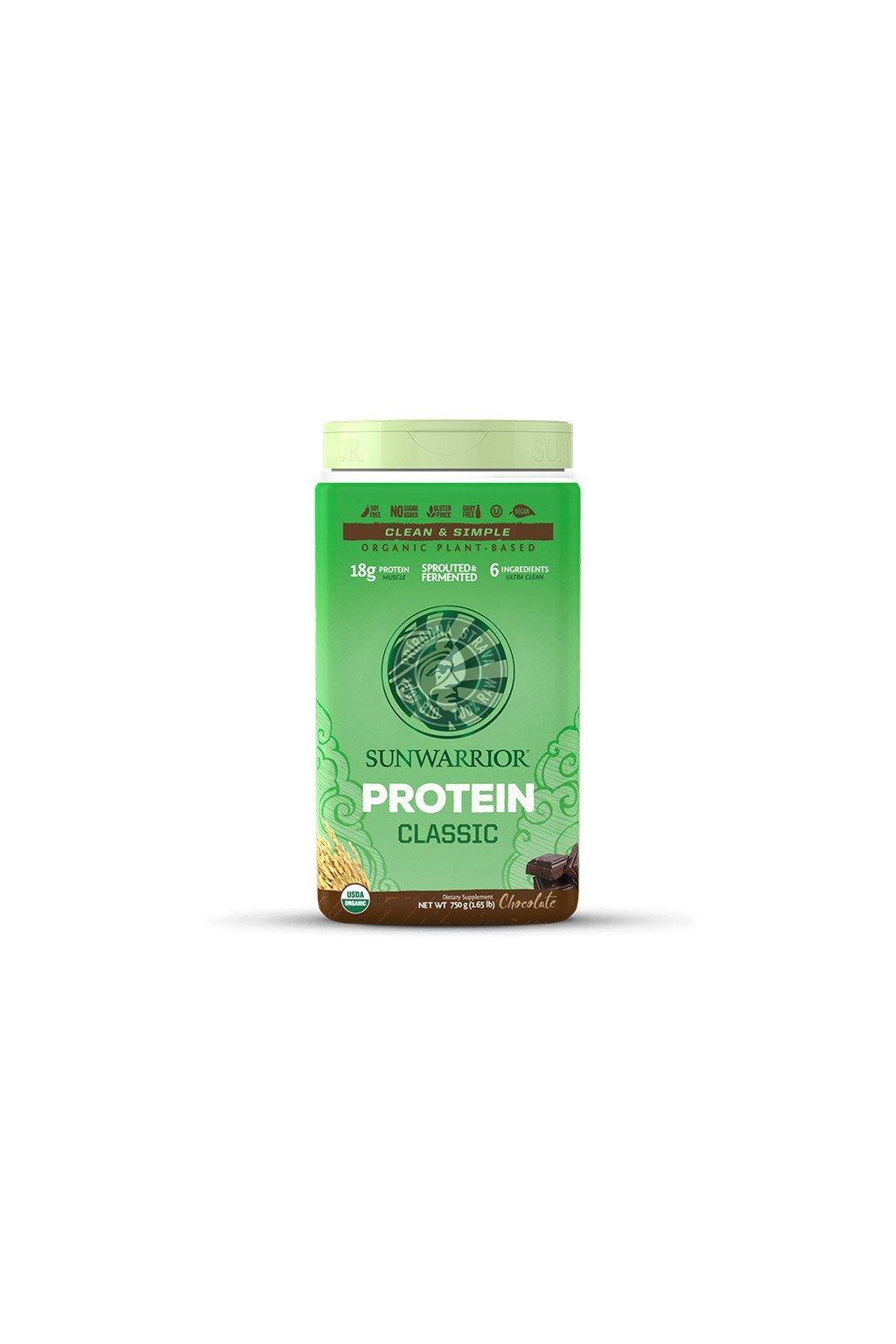 sunwarrior protein cokoladovy