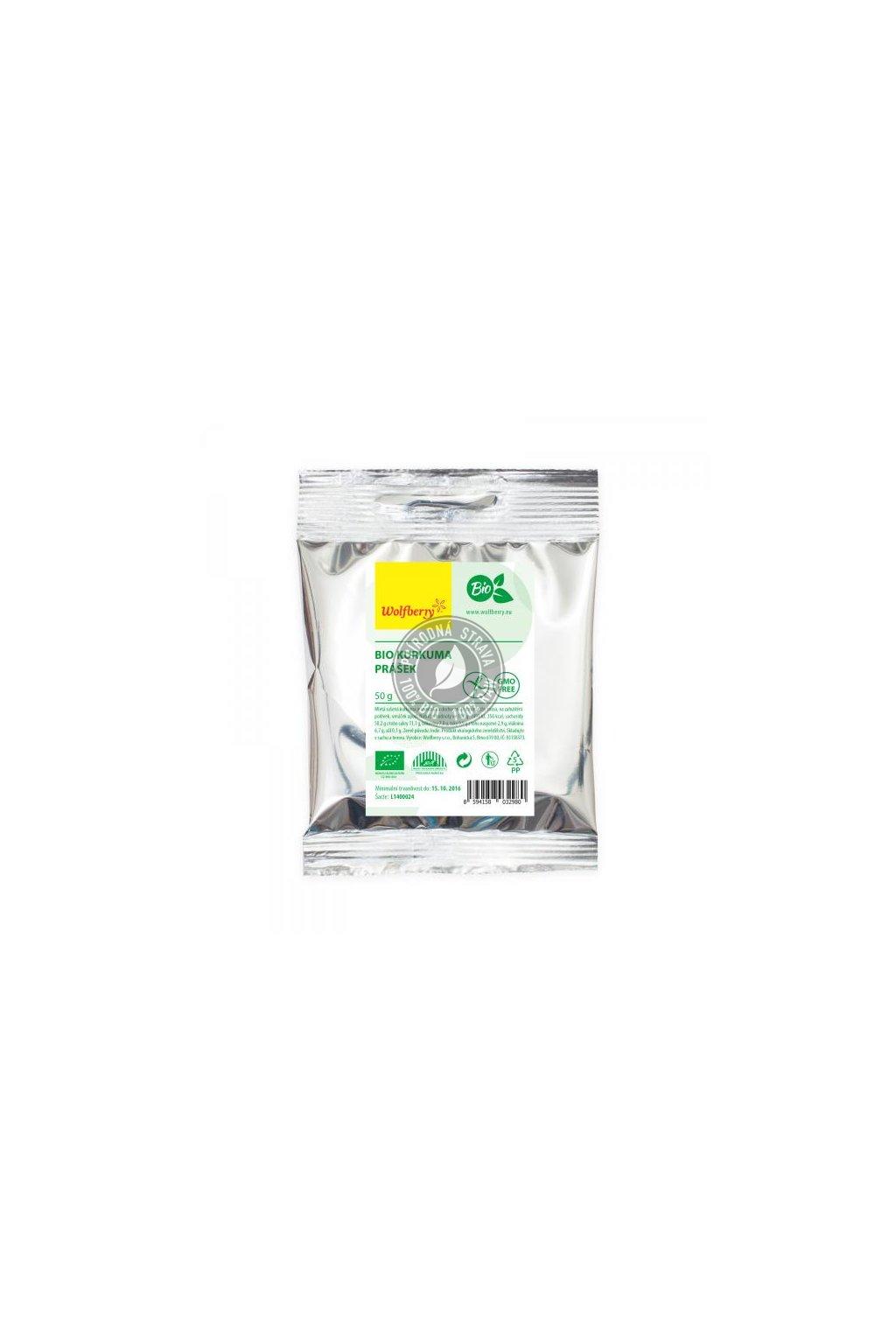 Kurkuma mletá BIO - 50 g