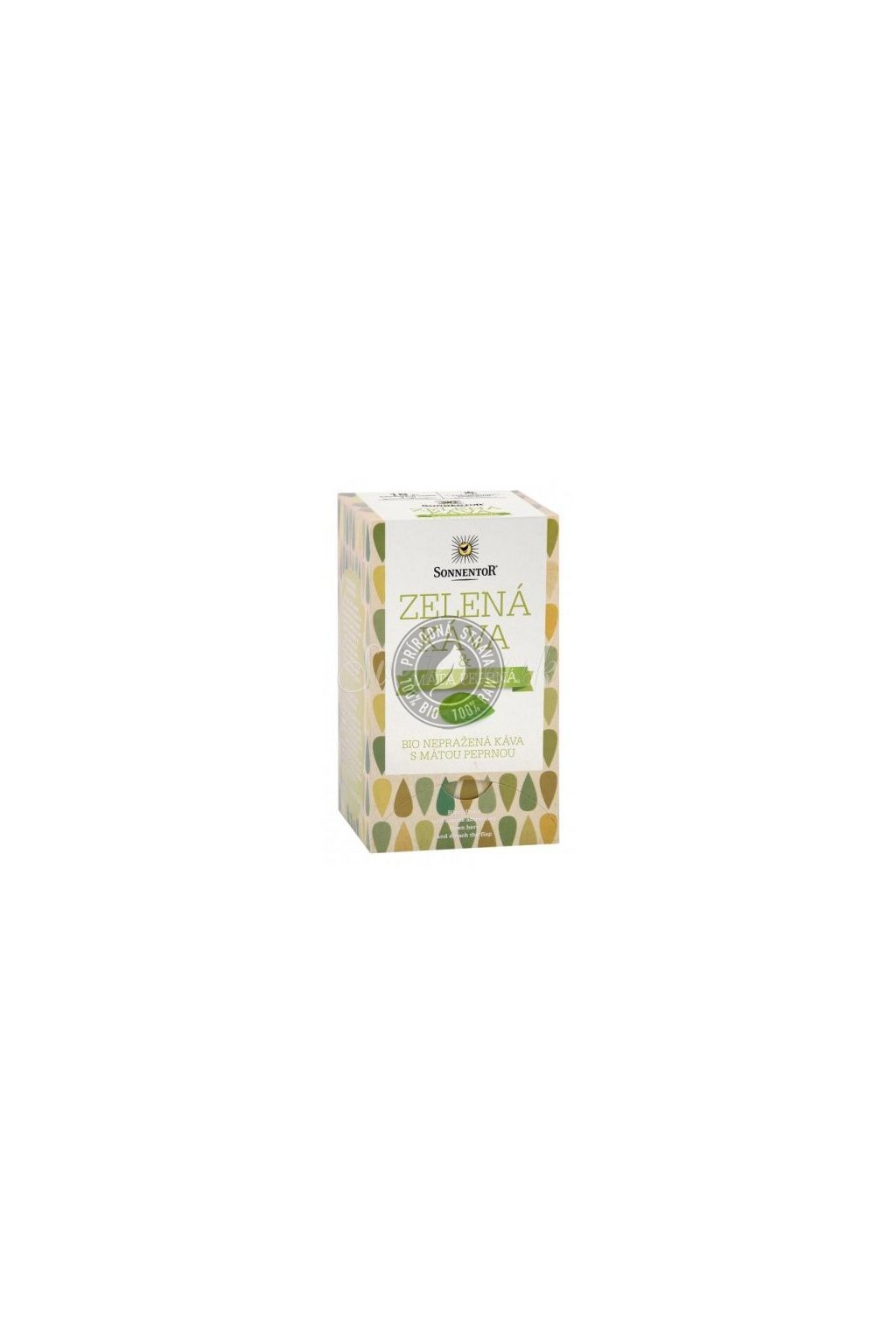 Zelená káva nepražená s mätou BIO - 54g