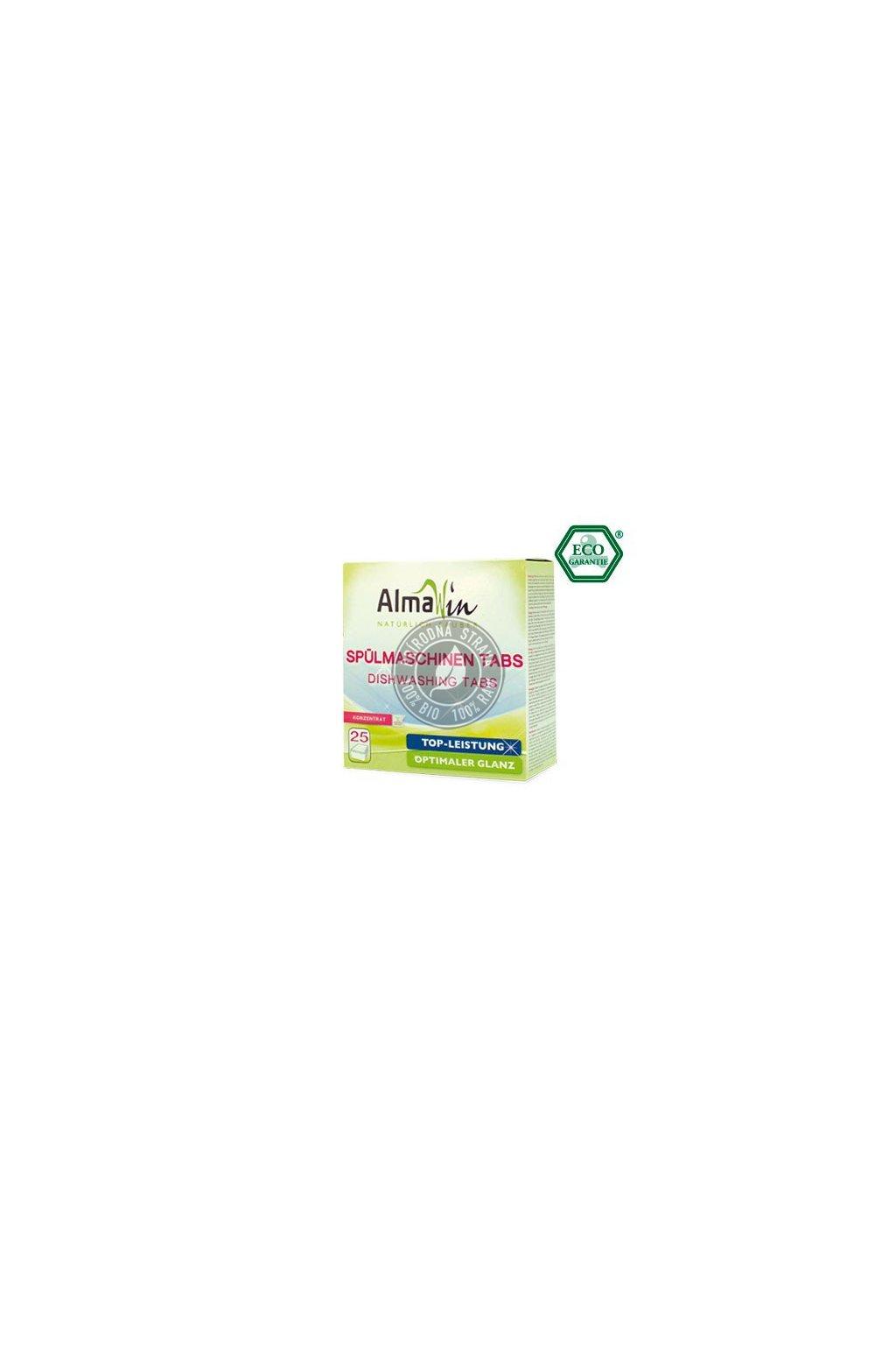 AlmaWin Tablety do umývačky riadu - 25 ks
