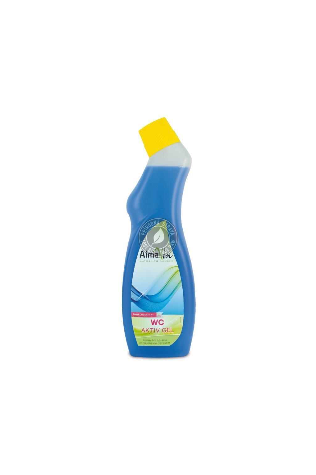 AlmaWin WC čistič aktívny gél - 750 ml