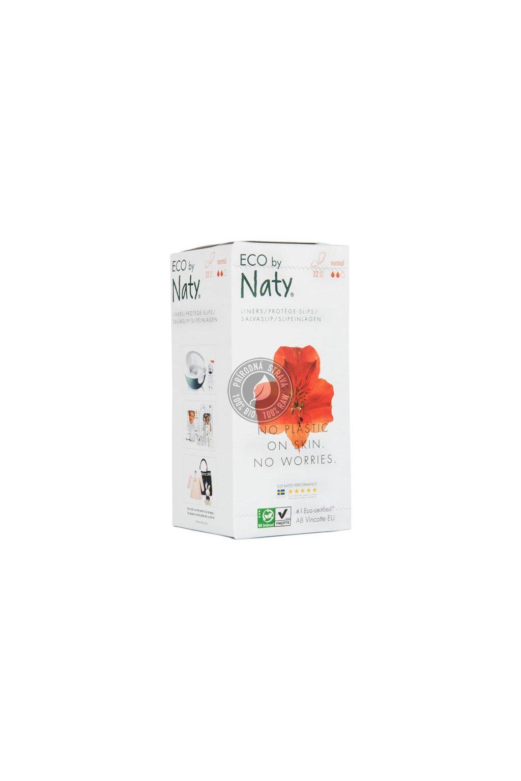 Naty, eco,vložky, slipové, Vincotte, GMO-free, natural, prírodné, rozložitelné, jemné