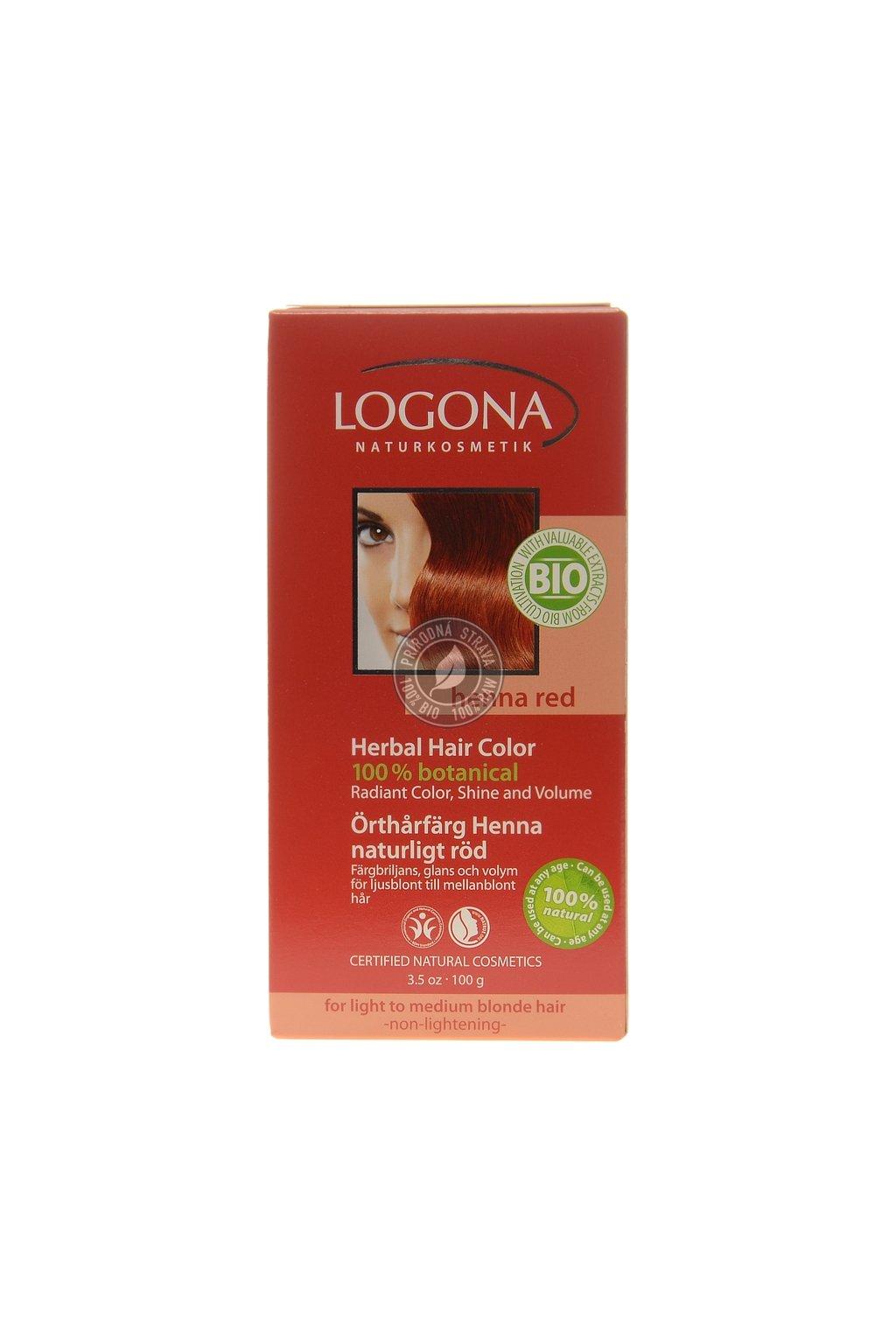 logona herbal hair colour henna red 2