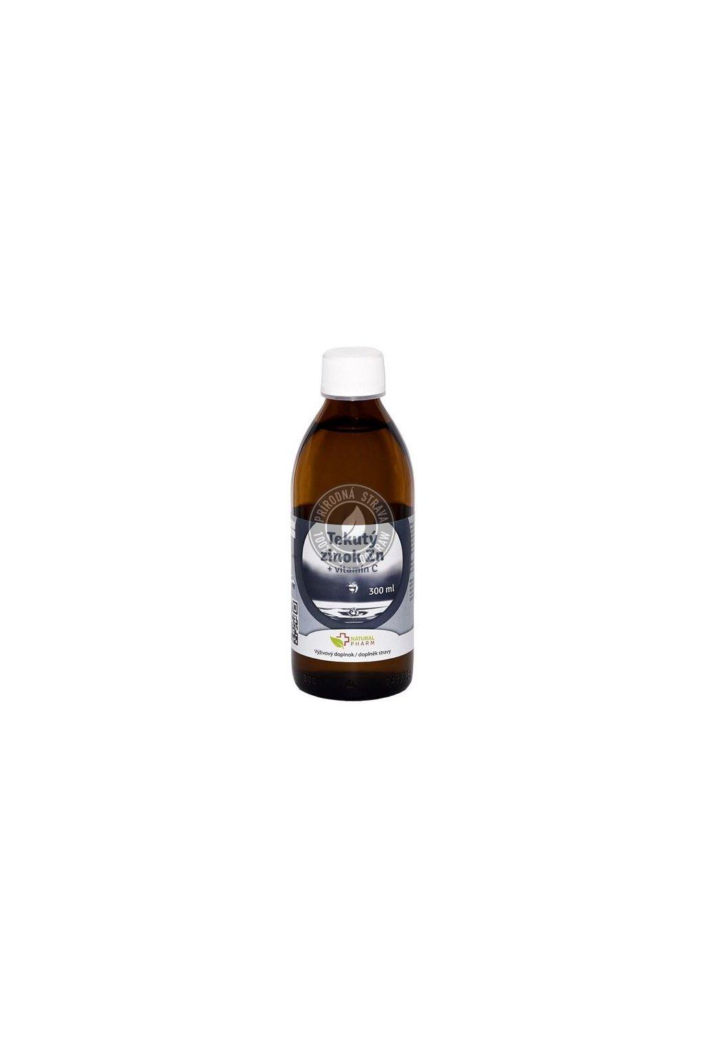 0000409 tekuty zinok zn vitamin c 300 ml 550