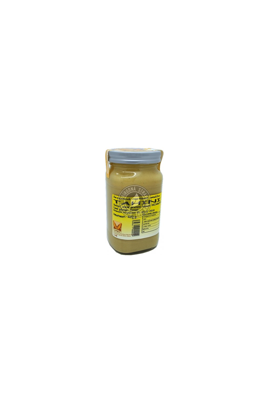 tahini rastlinna omacky 420g natural j