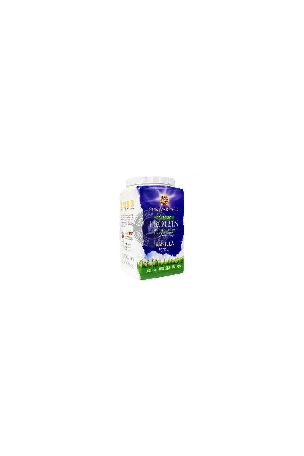 Sunwarrior Proteín - Vanilkový - 750 g