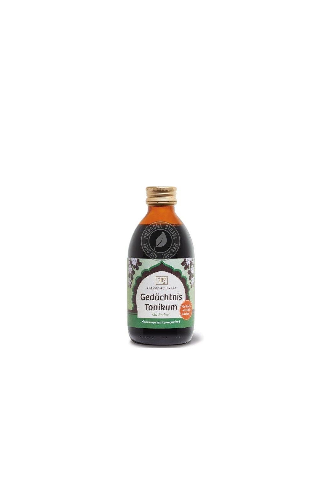 gedaechtnis tonikum 250ml classic ayurveda