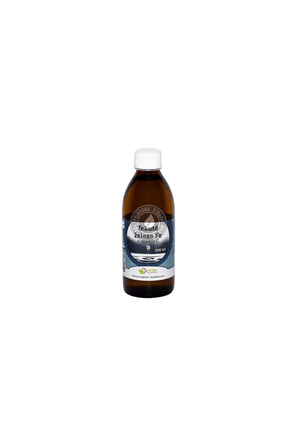 tekute zelezo fe vitamin c 300 ml 550