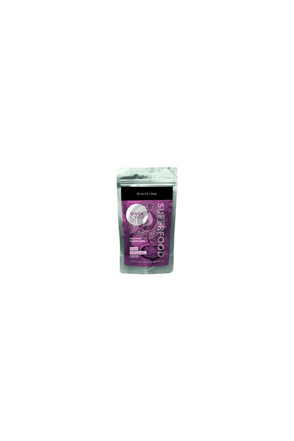 Prášok Maca BIO RAW Health Link  - 120 g
