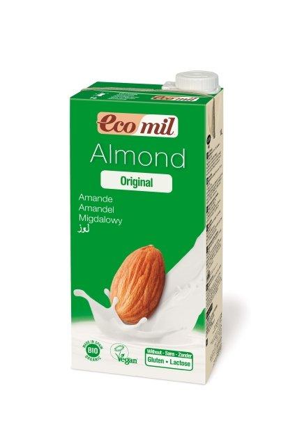 Nápoj zo sladkých mandlí BIO EcoMil - 1l