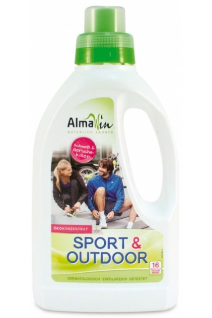 AlmaWin Prací gél Šport + Outdoor - 750 ml