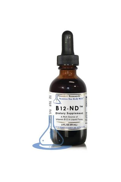 dietary supplements b12 nd 2 fl oz liquid by premier research labs 1 large