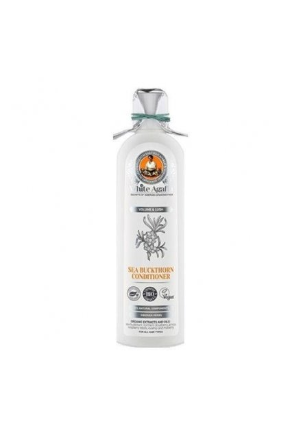 eng pl Babushka Agafia White Agafia Sea Buckthorn hair CONDITIONER volume and fluffiness 280ml 4680019150130 24790 1