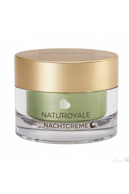 ANNEMARIE BÖRLIND NATUROYALE Night Cream Pressformat 3845 770x770