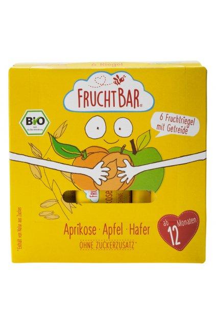 2120238 FruchtBar Bio Riegel Aprikose Apfel Hafer xxl