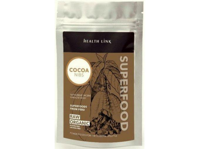 BIO RAW kakaové bôby drvené - 250g