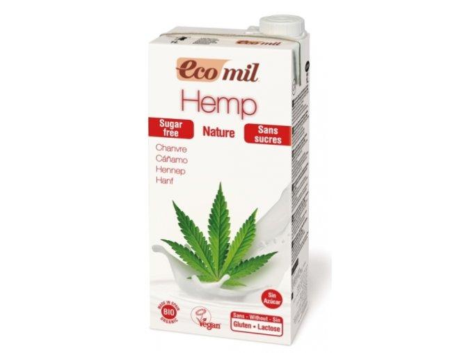 BIO Konopné mlieko EcoMil 1l