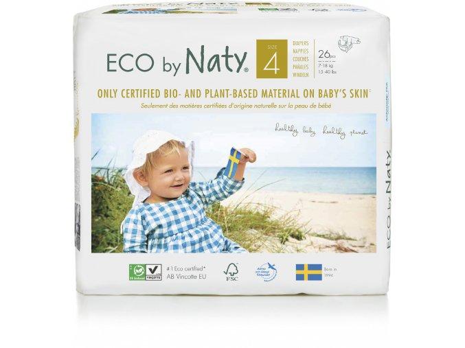 Plienky Naty Nature Babycare Maxi 7-18 kg (27 ks)