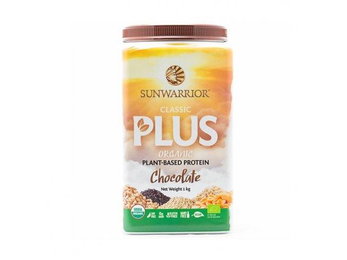 Sunwarrior Protein Classic Plus BIO - Čokoládový - 1 kg